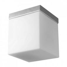 Stropní svítidlo Luxera Cubix 1513 1xE27/60W, Chróm, Bílá