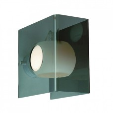 Nástěnné svítidlo Luxera Fedra 18018 1XG9/40W, Průhledná, Kouřová