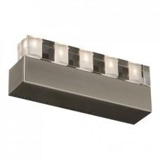 Nástěnné svítidlo Luxera Edgar 46009 5xG4/10W, Nikl