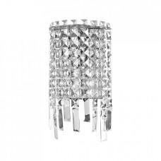 Nástěnné svítidlo Luxera Palass 64340 2xG4/20W, Chróm, Křišťál
