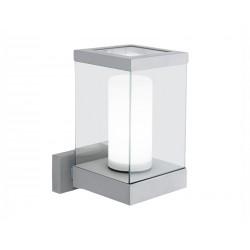 Venkovní nástěnné svítidlo EGLO 88767 DOWNTOWN 1xE27/60W stříbrná