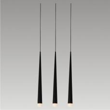 Lustr Luxera Ebony 48003 3xG9/33W, Černá