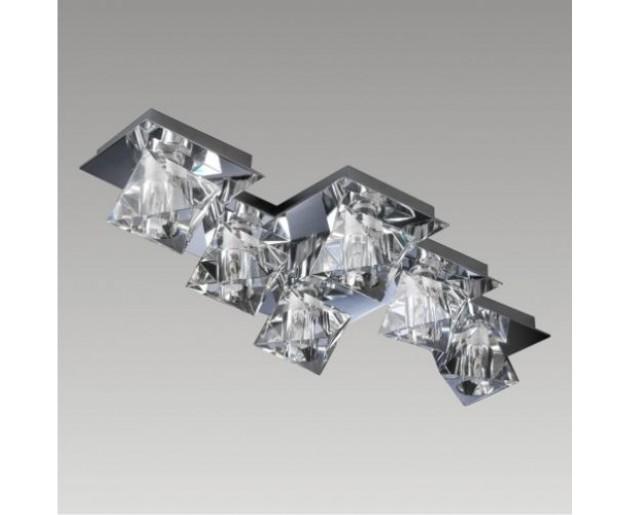 Stropní svítidlo Luxera Baiko 1547 6xG9/33W, Chróm