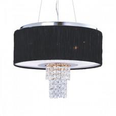 Svítidlo Luxera Pashmina 33501 6xE14/40W, Chróm, Černá, Opál